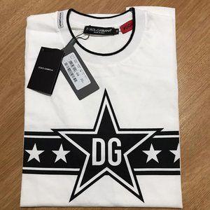 Dolce & Gabbana King Star Printed T-Shirt